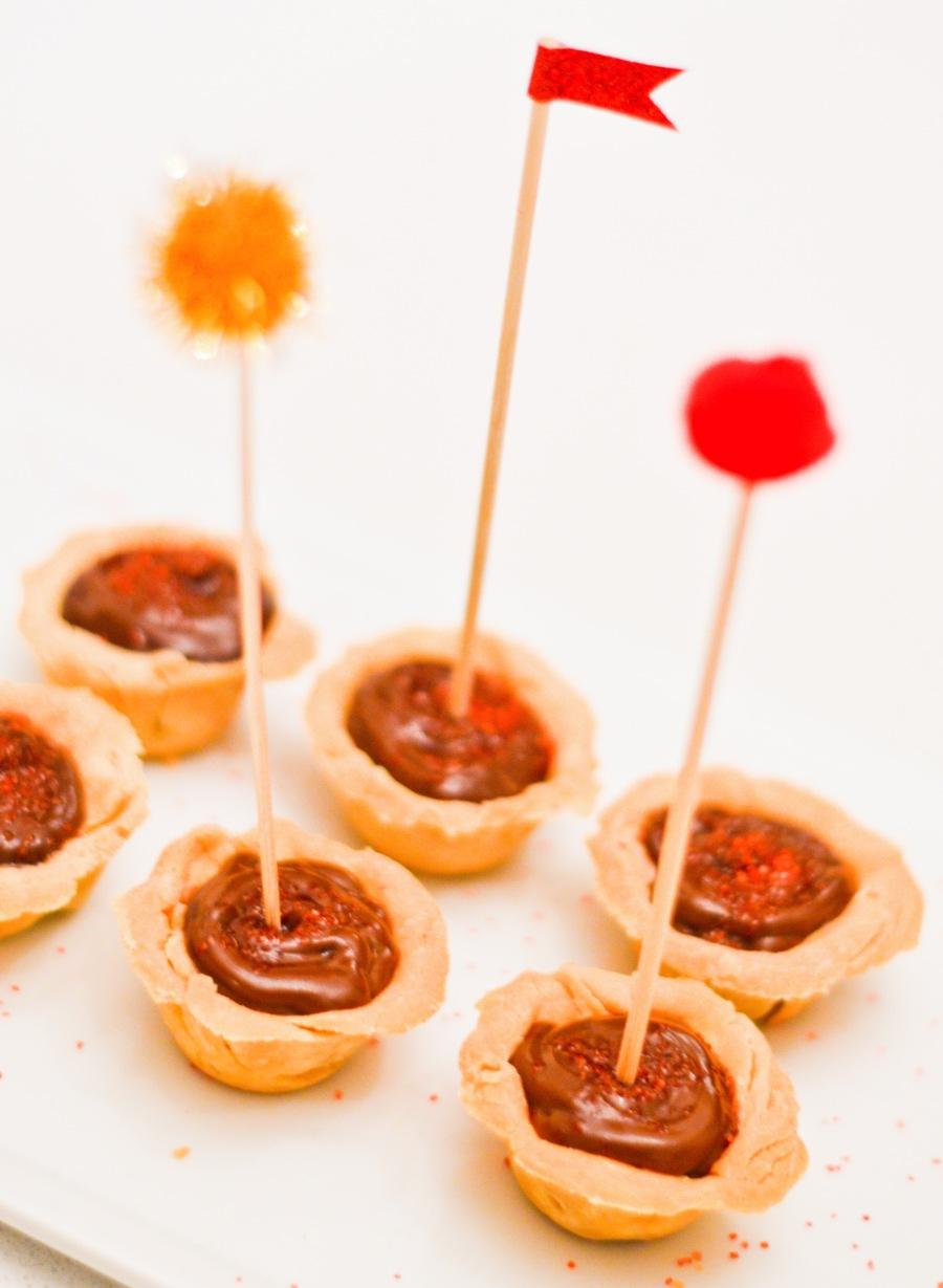Chocolate Mini Pies Let's Fête