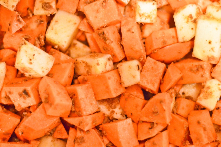 Let's Fête Roasted Sweet Potato and Apple
