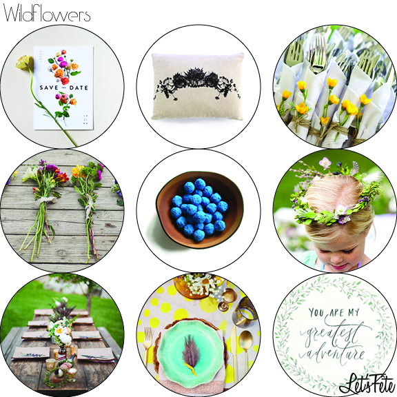 Let's Fête Wildflowers Inspiration