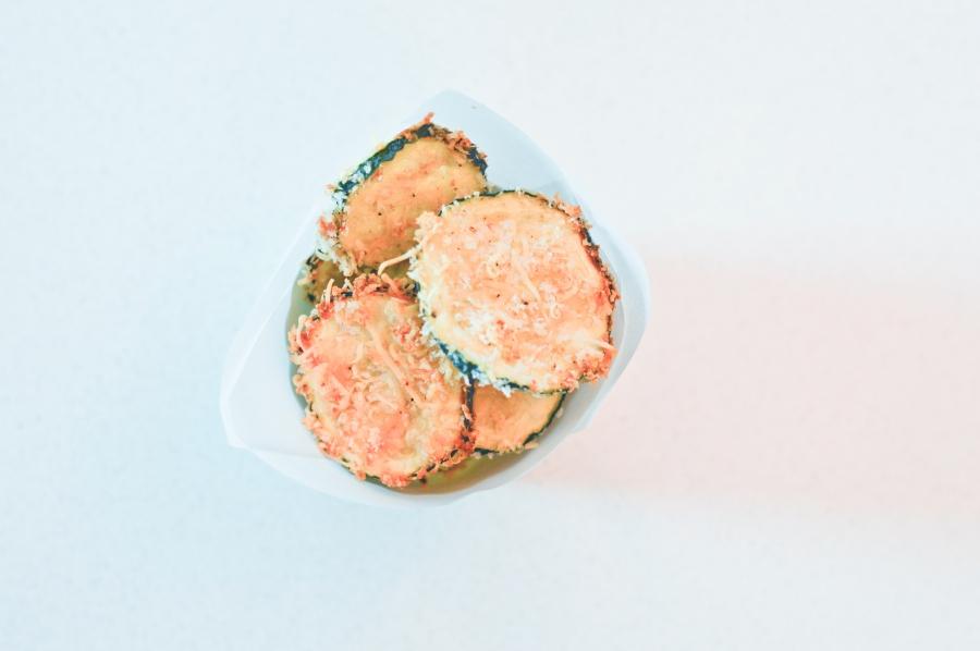Let's Fête zucchini chips