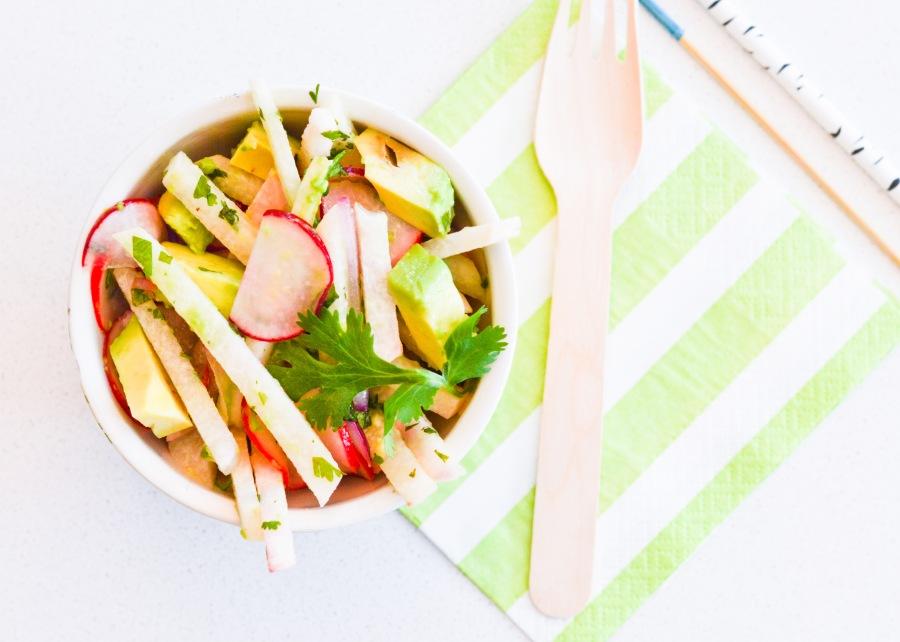 Let's Fête Jicama Salad