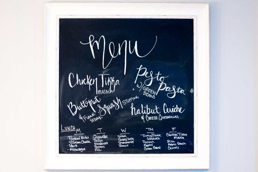 meal planning menu 7