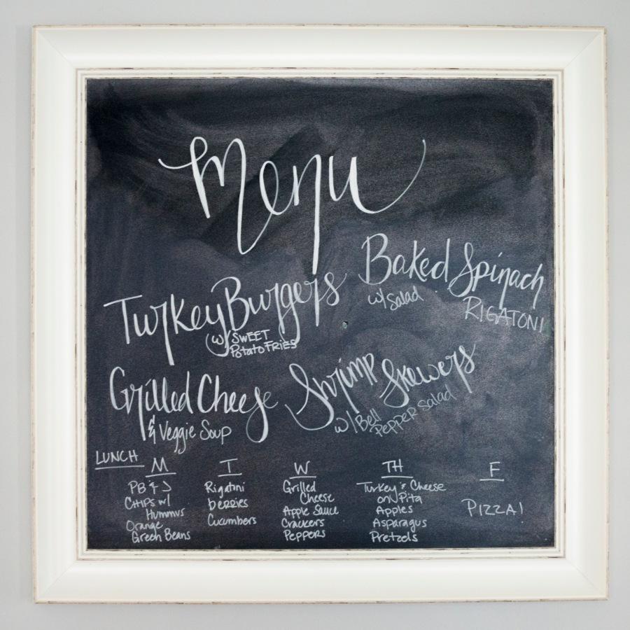 meal planning menu 13