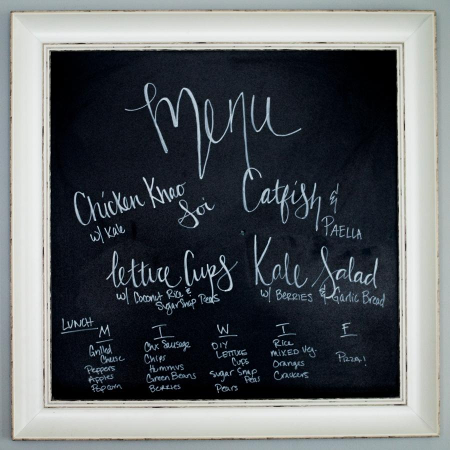 meal planning menu 14