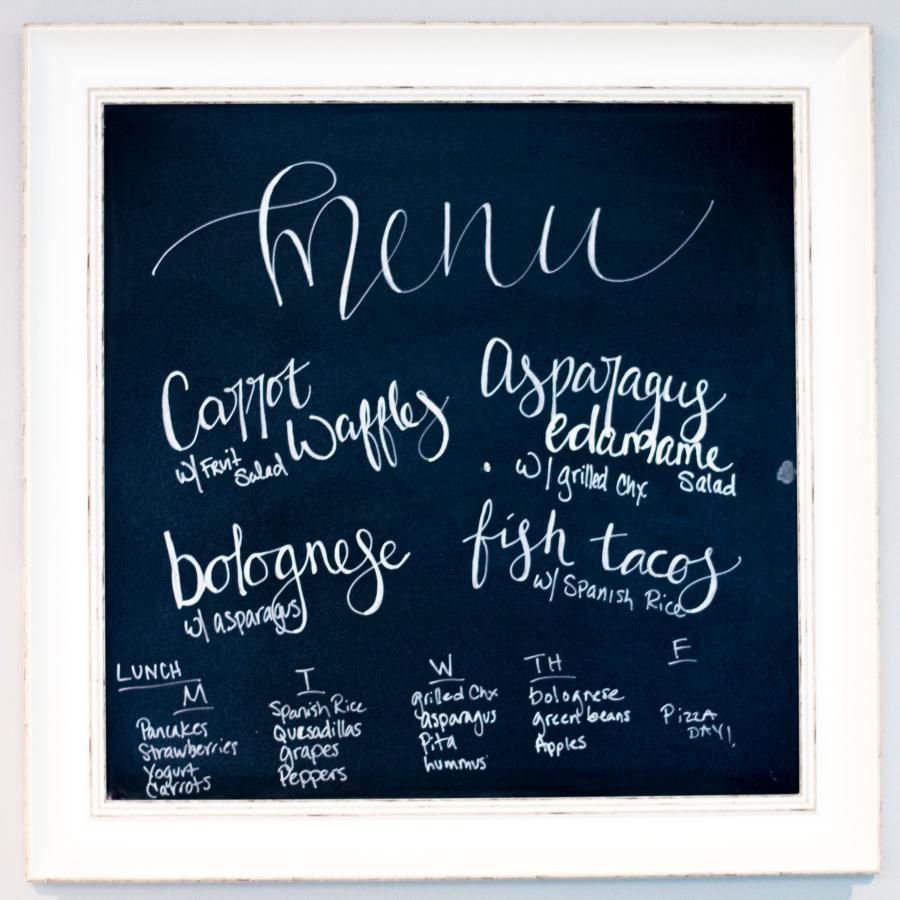 meal planning menu_1